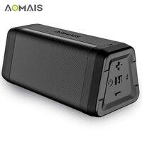 AOMAIS C15 Portable Bluetooth Speaker Stereo Sound Soundbar Column for Music MP3 Player Loudspeaker Waterproof Wireless Speakers