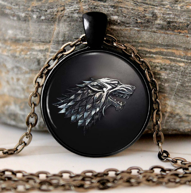 Game of Thrones, House of Stark, Pendant Necklace
