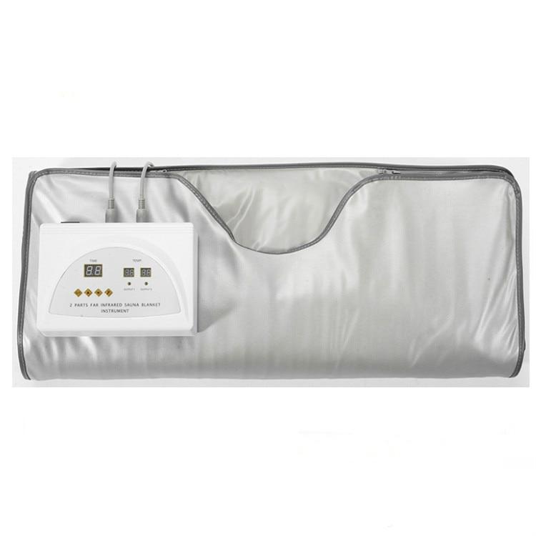 Fir Sauna Far Infrared Thermal Body Slimming Sauna Blanket Heating therapy Slim Bag SPA Weight Loss Body Detox Machine