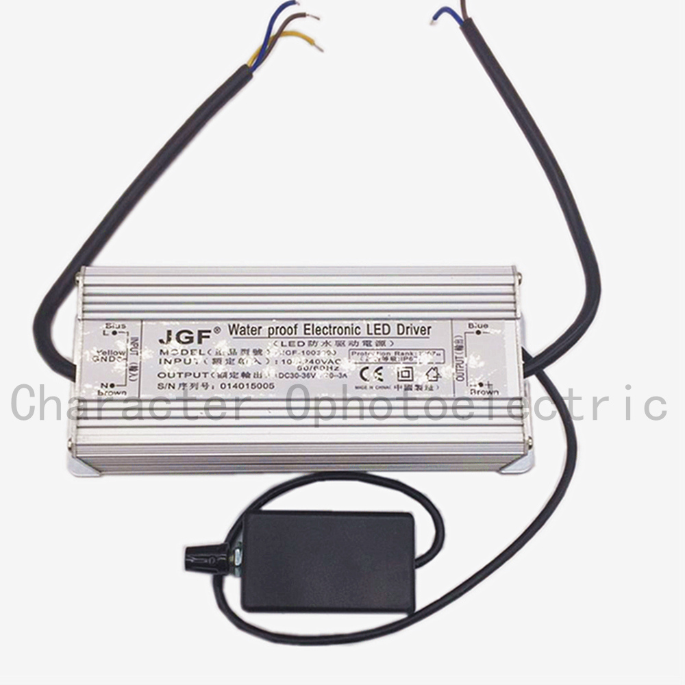 1 PCS 100W HighWaterproof Dimmer Diver Power LED Driver Dimmable IP67 driving power supply led driver in Lighting Transformers from Lights Lighting