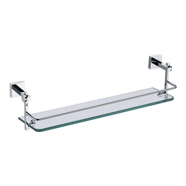 Nieuwe Moderne Chrome gekleurde Bad Plank Badkamer Accessoires ...
