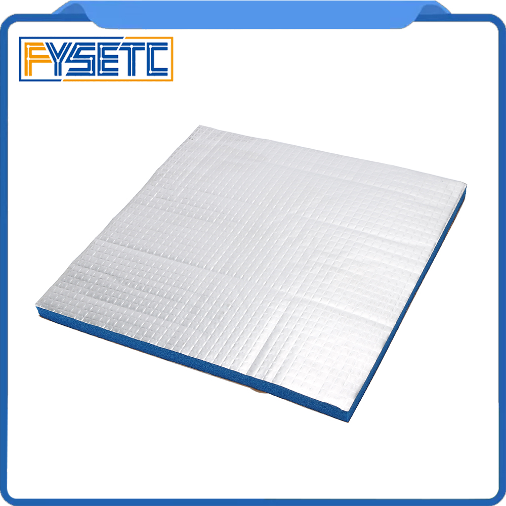 1PC Heat Insulation Cotton Blue 200/220 10mm Thick3D Printer Heating Bed Sticker For Waohao I3 Anet A8 A2 Creality Tronxy X2