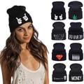 Fashion!! New Winter Knitted Hat For Women Hats Men Skullies Beanies Solid Women's Cap Warm Hat Unisex Beanie Wholesale/Retail
