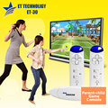 ET technology ET-30 parent-children family game console to tv motion sensing video game free shipping
