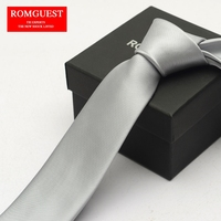 The Full 80 Men Leisure Business Nano Gift Boxes 6 Cm Narrow Korean Version Sterling Silver
