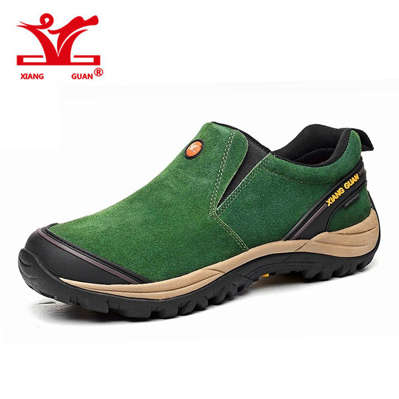 Outdoor Walk Waterproof Men font b Hiking b font Shoes Antiskid Trekking Climbing font b Boots