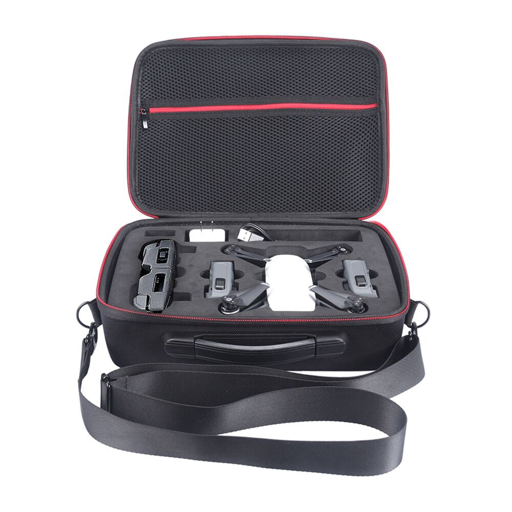 SUNNYLIFE Waterproof EVA Hard Storage Bag Carry Case for DJI Spark Drone Accessories handbag Box Portable