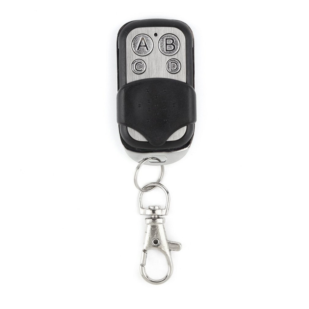 Remote Control Copy 4 Channel Cloning Duplicator Key Fob A Distance Learning Electric Garage Door Controller 433 MHz RF