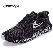 Autumn 2016 New Design Plus size Mens Sports shoes Running Women breathable Sneakers Outdoor Running Training Walking shoes 502