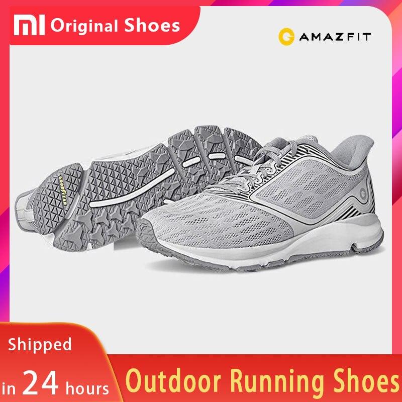 En Stock Original Xiaomi Amazfit lumière chaussures de course en plein air soutien puce intelligente Absorption des chocs baskets hommes femmes PK Mijia 2