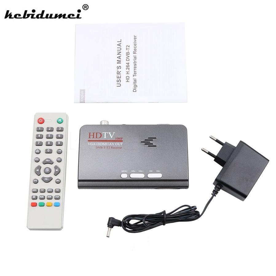 kebidumei digital hdmi 1080p dvb t t2 tv box vga av cvbs. Black Bedroom Furniture Sets. Home Design Ideas