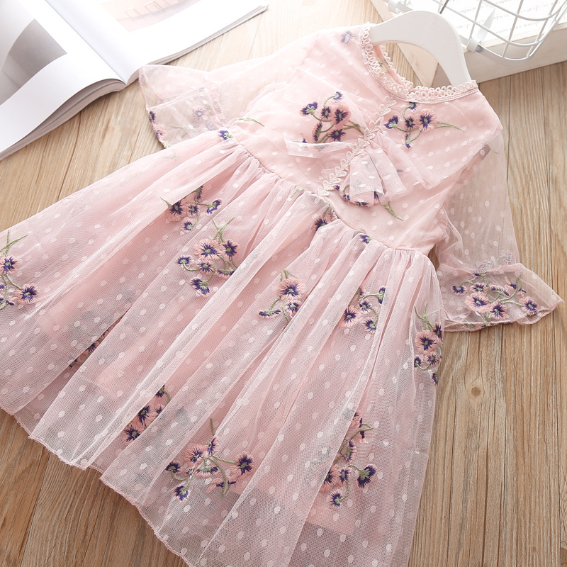 Teen girls party dress christmas <font><b>princess</b></font> <font><b>Toddler</b></font> thanksgiving costume vestidos holiday dresses for party and wedding Clothes 5T image