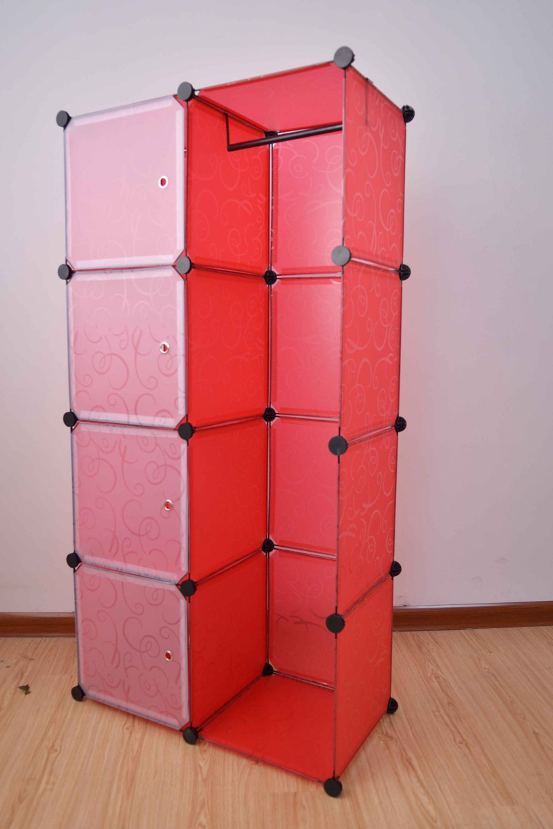 Eco Friendly Plastic Wardrobe Closet Easy Clean Combination Folding Storage Cabinets In Wardrobes From Furniture On Aliexpress Alibaba Group