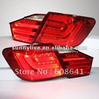 Для Toyota Camry Aurion светодиодные задние фары 2012 13 лет, верхняя одежда красного цвета V1