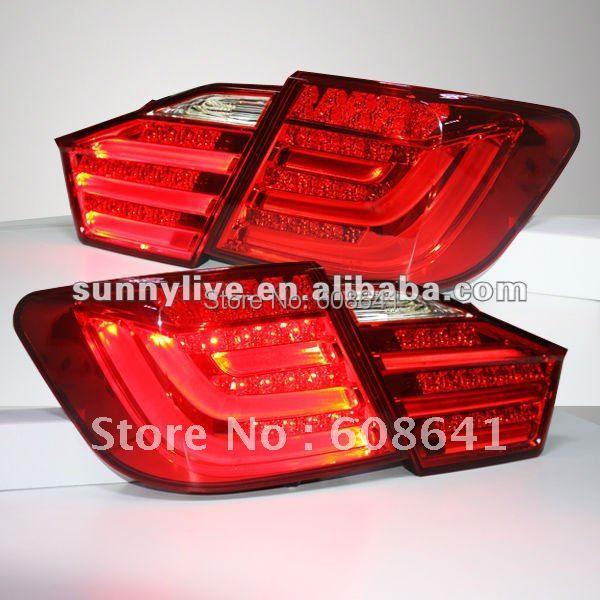 Pro TOYOTA Camry Aurion LED zadní světlo 2012 -13 let Červená barva V1