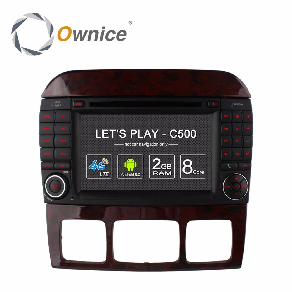 Ownice Vehicle PC GPS Navigator DVD font b Multimedia b font Video Player for MB Mercedes
