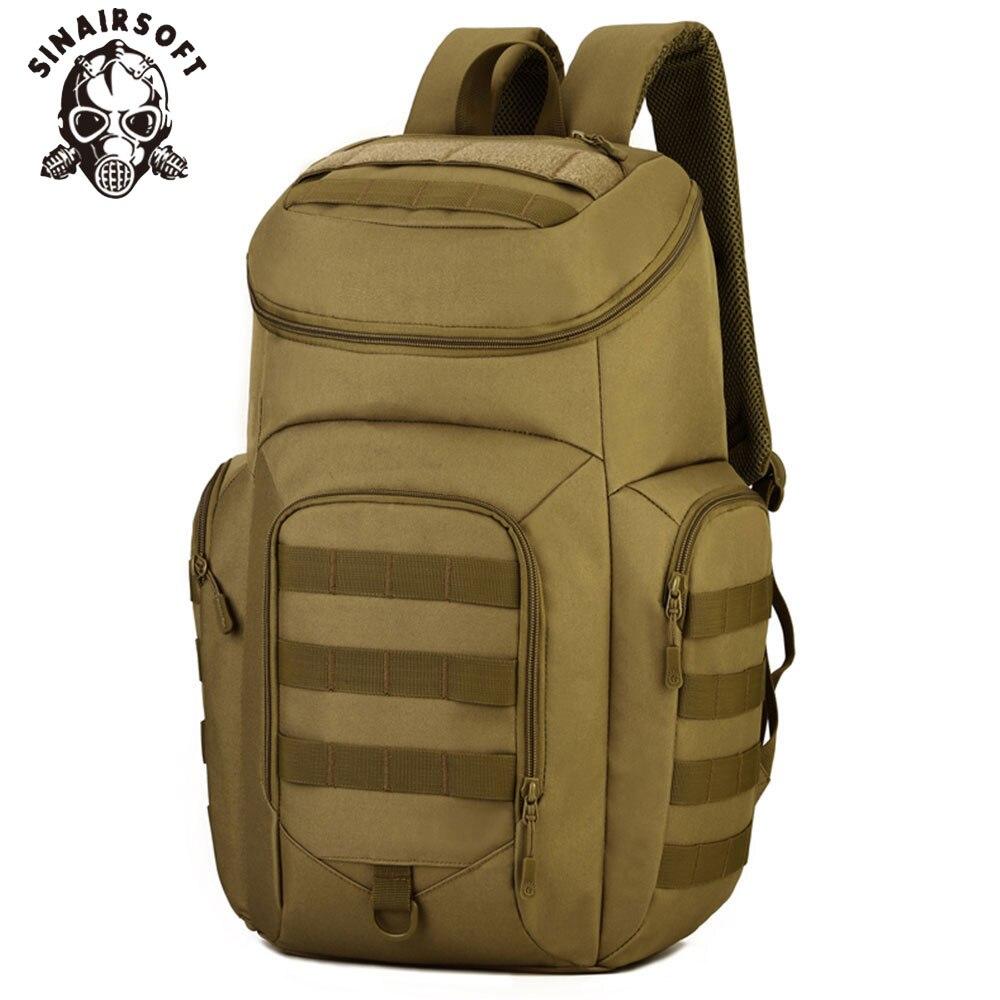 SINAIRSOFT 40L hommes étanche en Nylon Camping sac à dos militaire tactique mâle Camouflage voyage sac à dos pour ordinateur portable 15 pouces