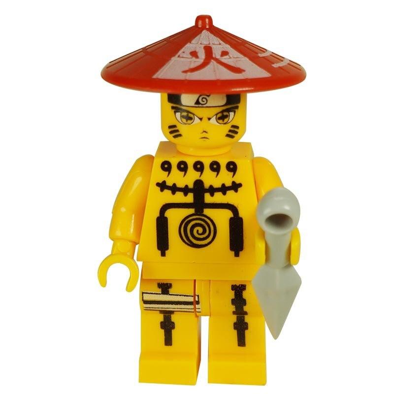 6 Pcs Naruto Shippuden Ninja Mini Figures