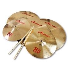 """practice set: series hihat+16""""crash+20""""ride+cymbal"""