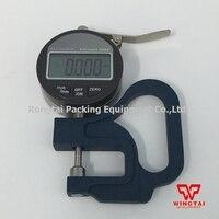 Portable Digital Thickness Gauge Meter 0 12 7mm 0 001mm