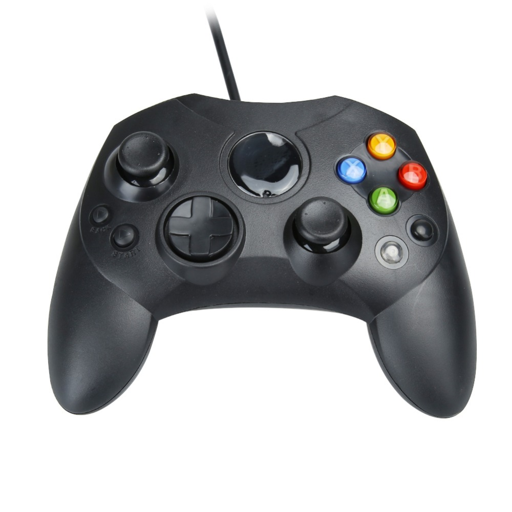 2017 newest usb wired controller for xbox game accessories wired gamepad joypad joystick for xbox game console controle black