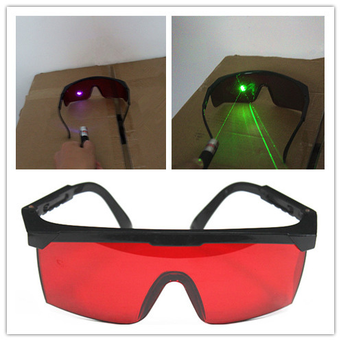 48pcs 400nm-540nm safety Laser protective glasses 532nm green laser 405nm purple blue laser Eye protect Goggles