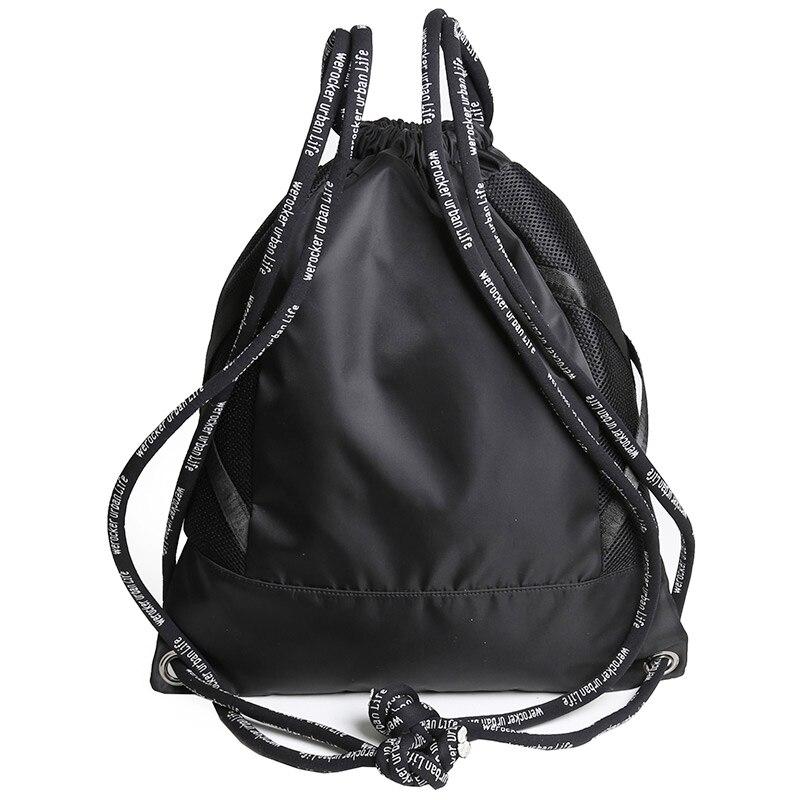 Likros Men Fitness Backpack Basketball Bag Outdoor Easy And Light Rope Bag Female Bag Pocket Rope Drawstring Bag LK725