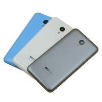 뒤 표지 배터리 도어 뒤 하우징 케이스 커버 Meizu M2 참고 5.5 인치 MTK6753 Octa 코어 핸드폰