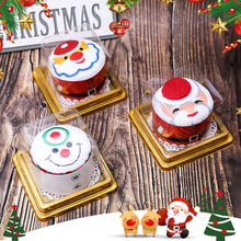 Creative Party Supplies Presents Cake Towel Christmas Gift Xmas Washcloth Dishcloth towel(China)