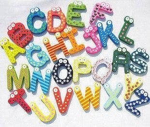 Игрушки для раннего обучения, магнитные магниты на холодильник, деревянные,, 10 компл./лот