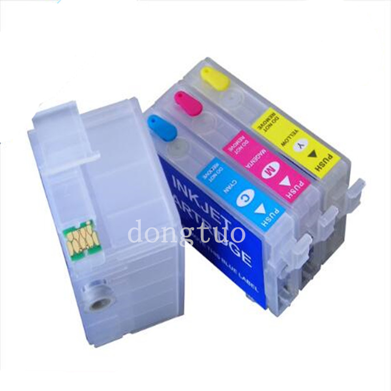 T2701 T2711 27XL Refillable ink cartridges for Epson for WorkForce WF7110 7610 7620 WF3620 WF3640 7110DTW 7610DWF printer