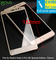 Lenuo Tempered Glass Protective For Xiaomi Redmi Note 3 Pro SE Note3 Special Edition 152mm Global Version
