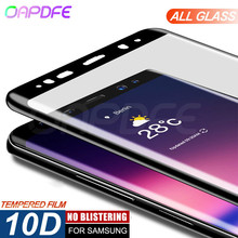 10D Tempered Glass For Samsung Galaxy S7 Edge S8 S8 Plus s9 s9 plus Screen Prote