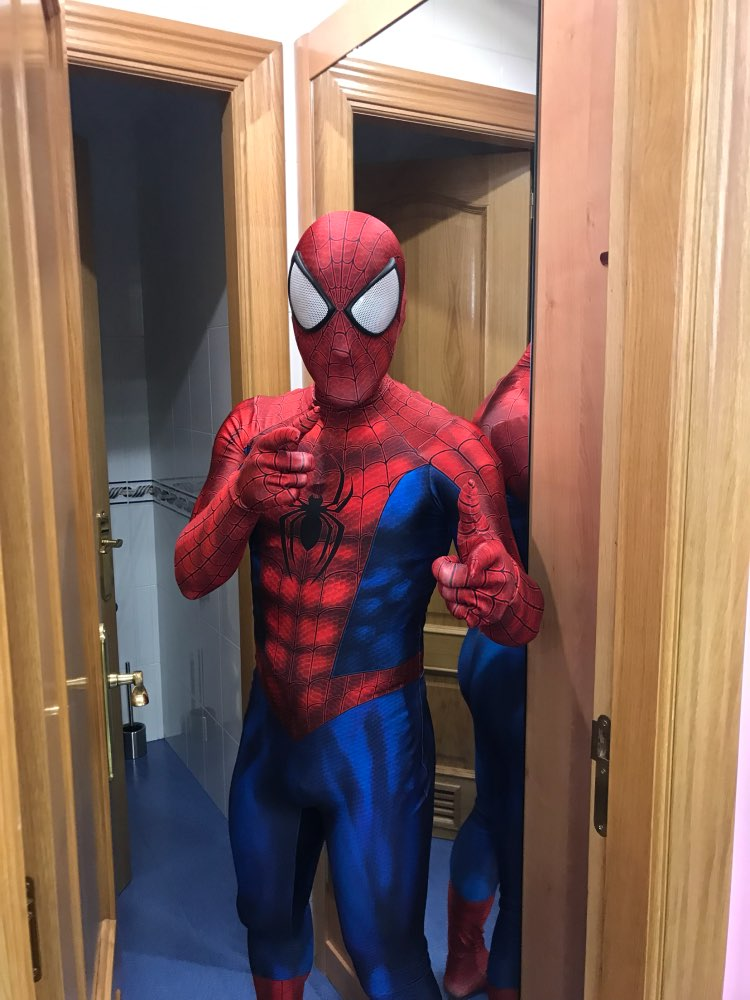 Hot Sale Spiderman Cosplay Costume 3D Print Spandex Halloween Spidey Cosplay Suit for Adult Kids Custom Made