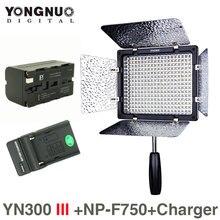 Dhphoto yongnuo yn300 iii 5500 К 300 свет на камеры освещение для свадьбы с np-f750 аккумулятор и зарядное устройство