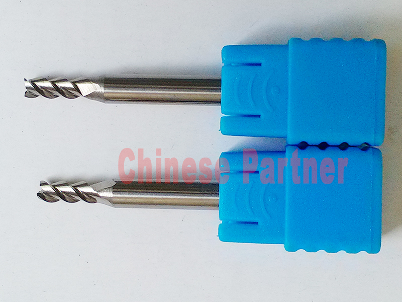 1pc Fibreglass 3.175mm x12 CEL Coated Burr Tool Carbide Cutter CNC composite UK