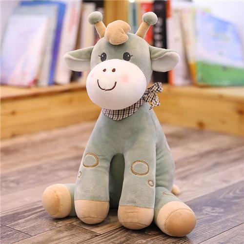 1pc Deer Plush Toy Baby Kawaii Giraffe Stuffed Figure Plush Dolls High Quality Horse Animal Birthday Gift For Children Kid Gifts