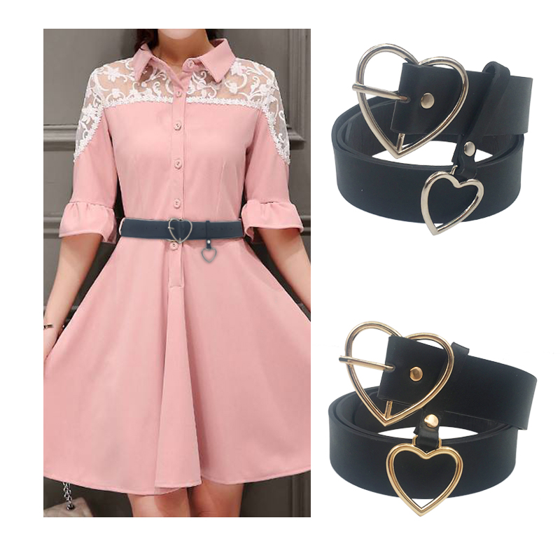 Женский пояс на талию, милое женское большое кольцо, декорированные ремни для женщин,, новейший дизайн, Модная Золотая пряжка, Одноцветный ремень из искусственной кожи