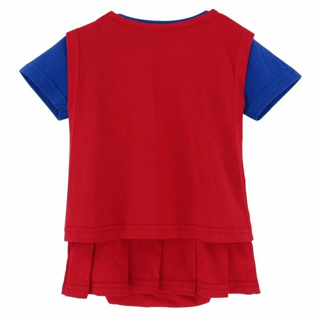 Bébé Fille Supergirl Costume Body Infantile Robe Mignon Babygrow 0-24 Mois