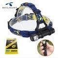 2016 New skilhunt H02 led flashlight cree XM-L2 led 1000 lumens led headlamp hunting equipment + headband free shipping
