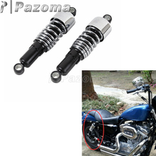 Chrome Steel Slammer Shock Fork Springs Lowering Kit for Harley Dyna FXD FXDL Super Glide Low Rider Fat Bob