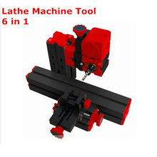 DIY Mini Lathe Machine 6 in 1, DIY Mini Micro Lathe Machine Tool 6 in 1,  For Wood and Soft Metal