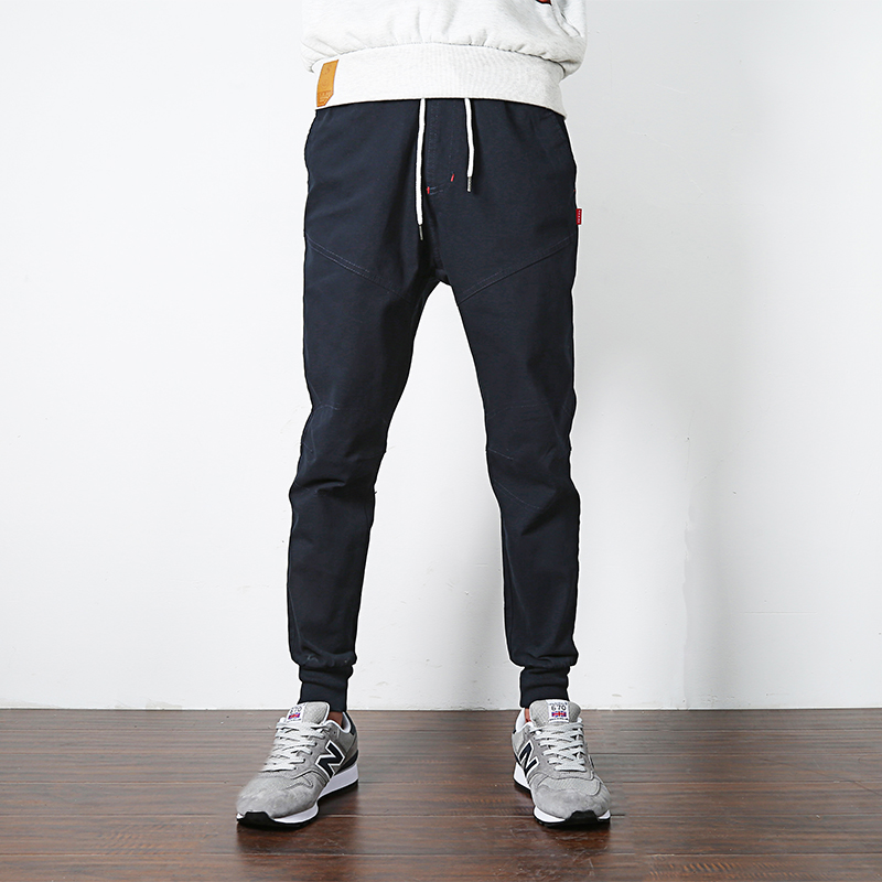 Spring cotton Cargo Pants tide brand overalls Men Joggers Boost Military Casual Sweatpants Hip Hop Male black Trousers