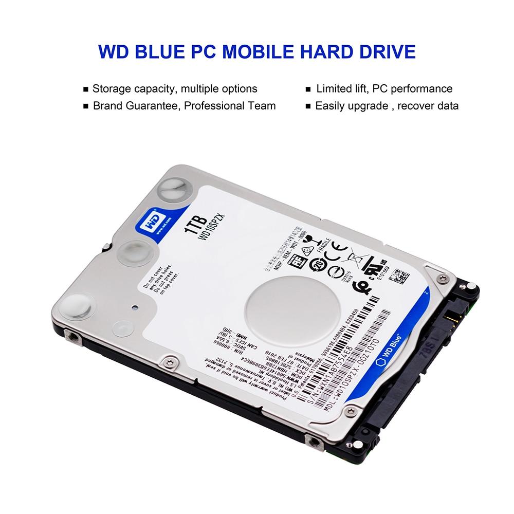 Western Digital Wd Blue 1tb Hdd 25 Sata Disco Duro Laptop Internal Hardisk Pc 320gb New Sabit Hard Disk Drive Hd Notebook Harddisk Wd10spzx In External Drives