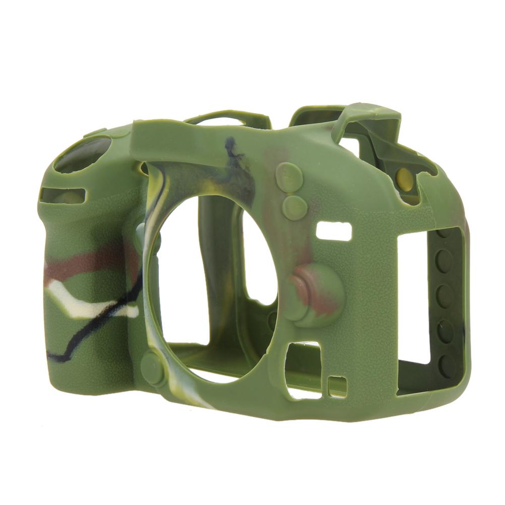 Prix pour NI5L Souple En Caoutchouc de Silicone De Protection Caméra Corps Peau de Cas de Couverture pour Nikon D610 D600 caméra sac cas