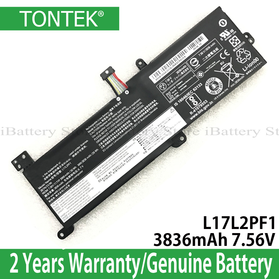 Wholesale Genuine L17L2PF1 Battery For Lenovo IdeaPad 320-14ABR 320-15ABR 520-15IKBR Xiaoxin Chao 5000 Series L16M2PB2