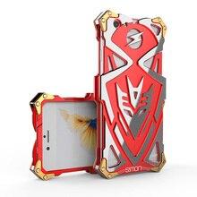 Новейшие Саймон Холодный Металл Алюминиевый Жесткий Броня ТОР ЖЕЛЕЗНЫЙ ЧЕЛОВЕК Телефон случае Анти-капля задняя Крышка для iPhone 6 6 s 7 плюс свободный доставка