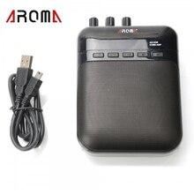 Aroma AG-03M 5W Guitar Recorder Speaker TF-Card Slot Compact Guitar Amplifier+USB Data Line Guitarra Parts Guitar Accessories