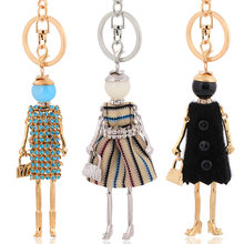 chenlege statement fashion key chains women keychains 2018 lady pendants cute new charms keyring key holder gifts(China)