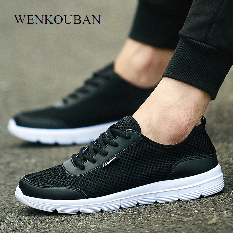 Air Mesh Shoes Women Sneakers Female Summer PLUS Size Baskets Femme Ladies Trainers Tenis Feminino Casual Light and Breathable pinsen fashion women shoes summer breathable lace up casual shoes big size 35 42 light comfort light weight air mesh women flats